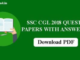 SSC CGL Previous Year Question Papers: