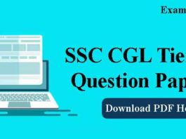 SSC CGL Tier 2 Previous Year Question Papers