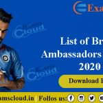 List of Brand Ambassadors in India 2020 List of Brand Ambassadors in India 2020