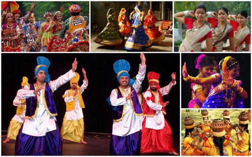 List of Folk Dances of India
