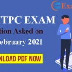RRB NTPC 3rd February Asked Question: