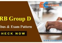 RRB Group D Syllabus PDF