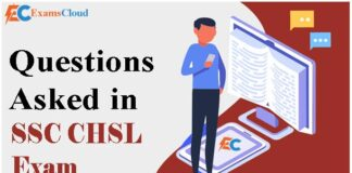 SSC CHSL Asked Questions: Check SSC CHSL Memory Based Question Paper PDF