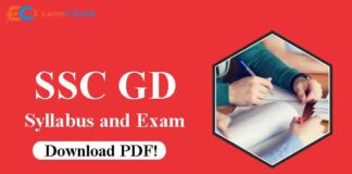 SSC GD Constable Syllabus and Exam Pattern 2021