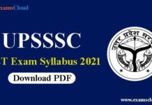 UPSSSC PET Syllabus and Exam Pattern 2021